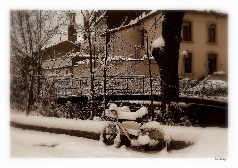 Ohne Winterreifen ...