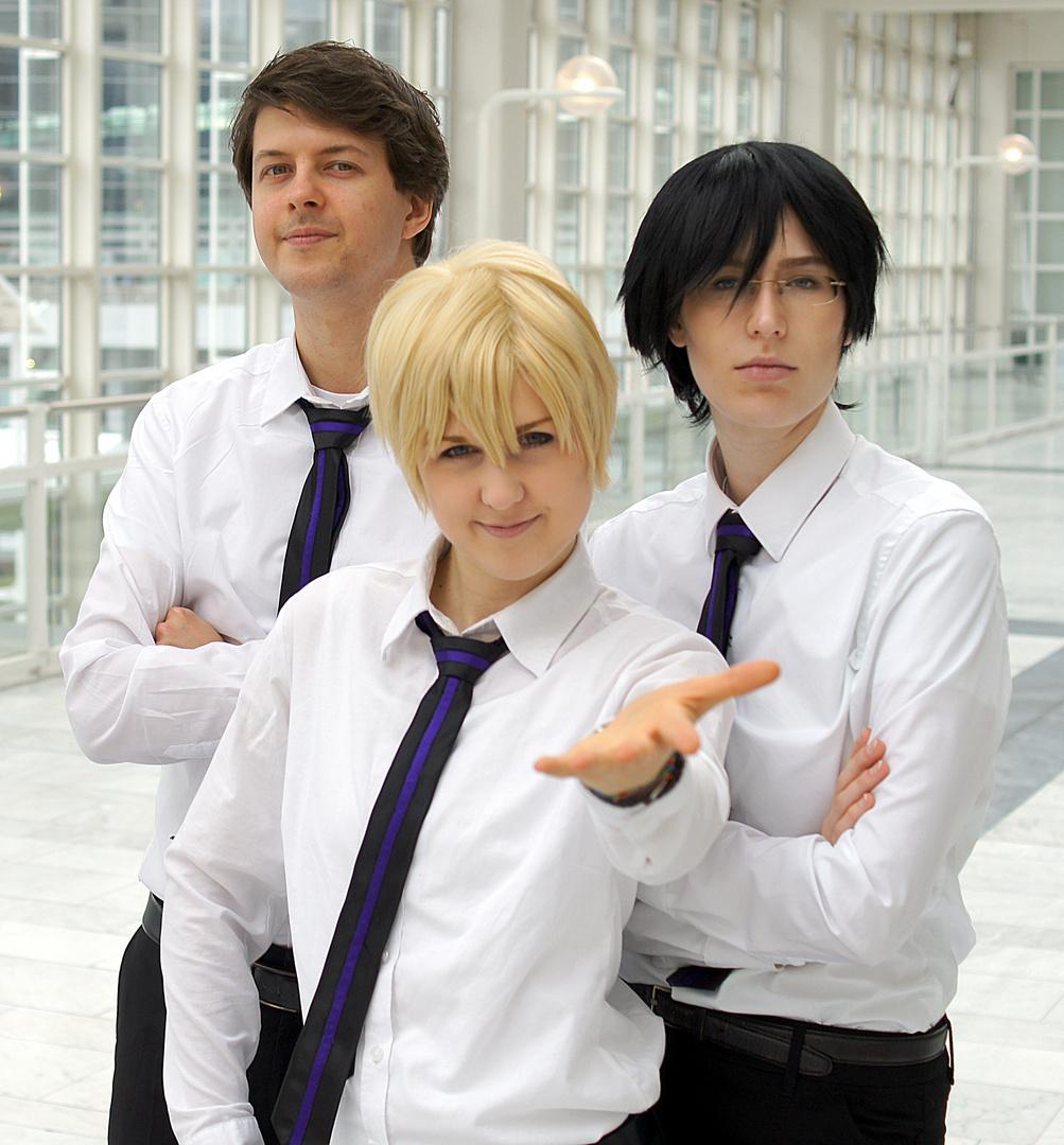 OHSHC 1: Mori, Tamaki und Kyoya