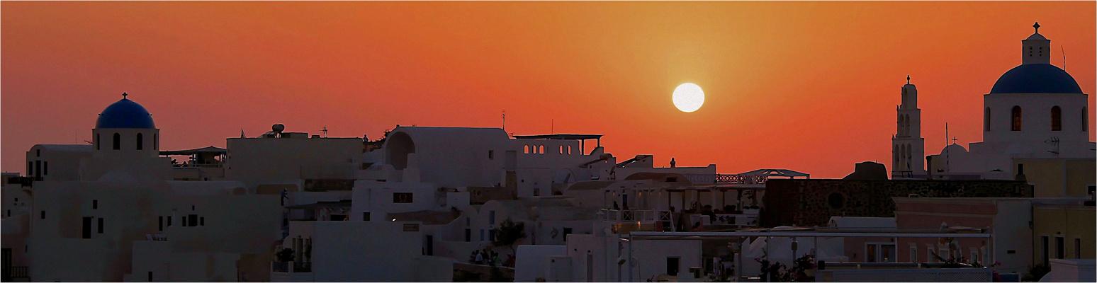 OIA ( Cyclades;Santorin )