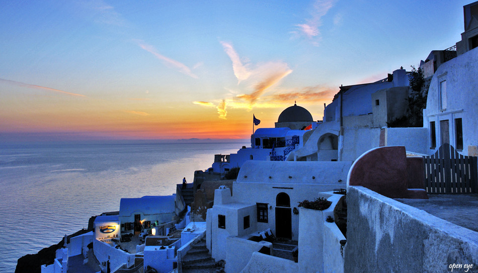 Oia - Santorini wo die Sonne scheint