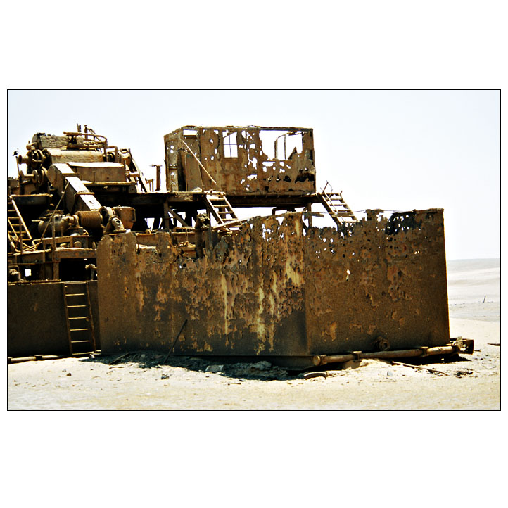 Oil-Rigg, Skelettküste, 05