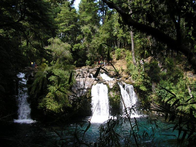 Ojos Del Caburgua Sur De Chile Imagen Foto Paisajes