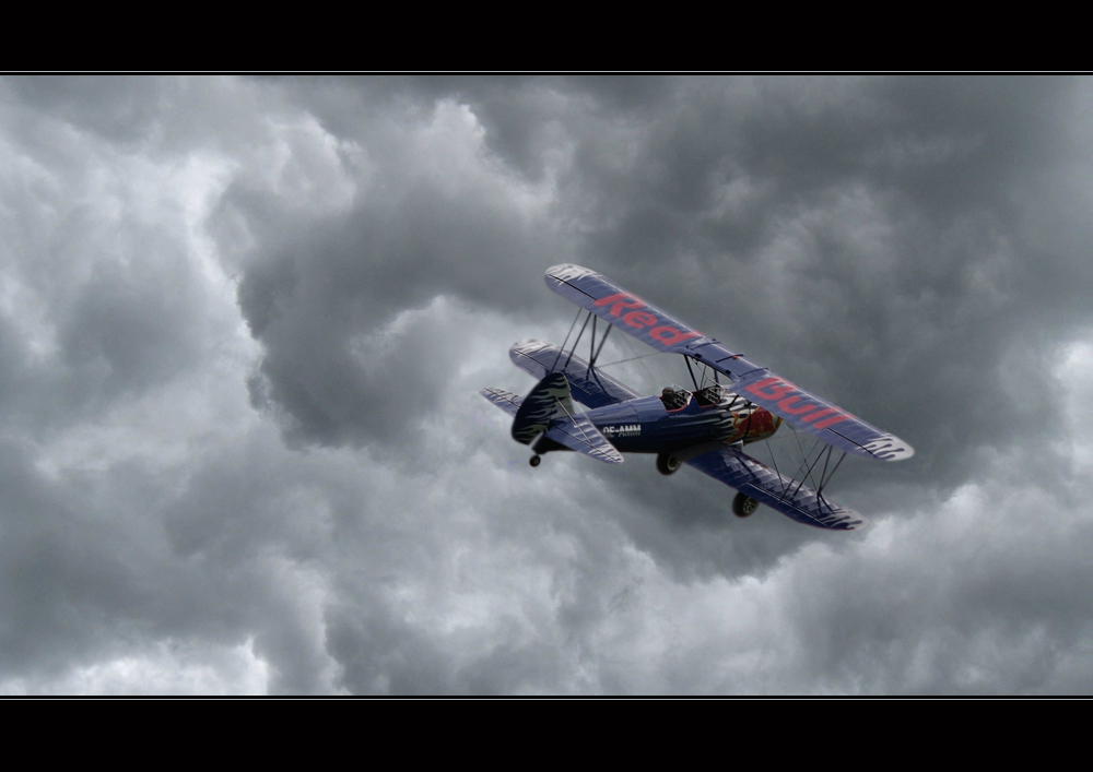 OK, Red Bull verleiht Flügel...
