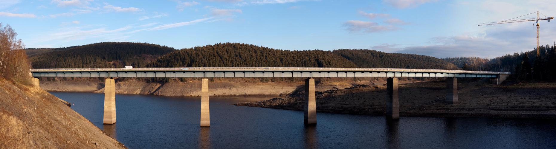 Okertalsperre - Weisswasserbrücke