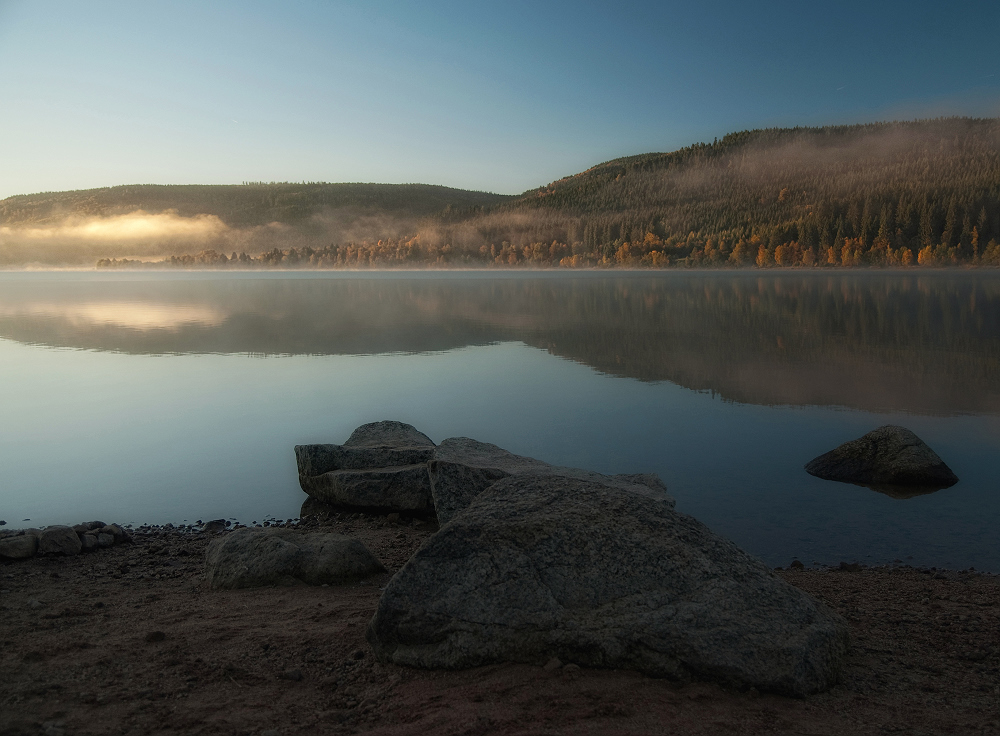 Oktober am See