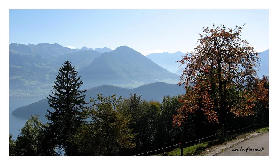 Oktober am Vierwaldstättersee