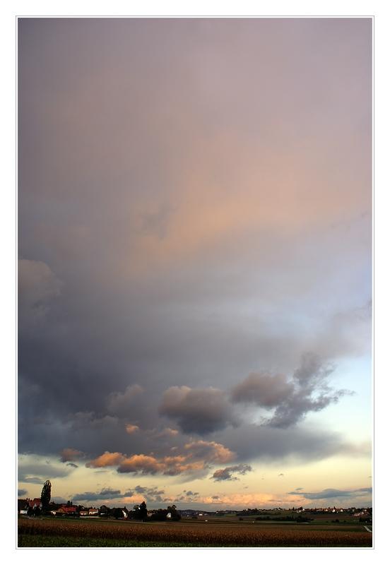 Oktober-Himmel