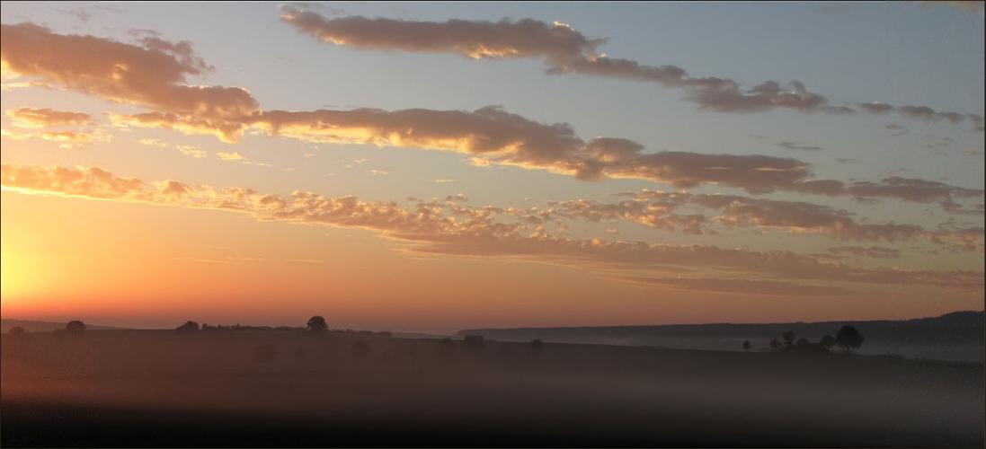 Oktober-Morgenrot