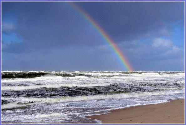 Oktober-Stimmung am Strand von Westerland/Sylt