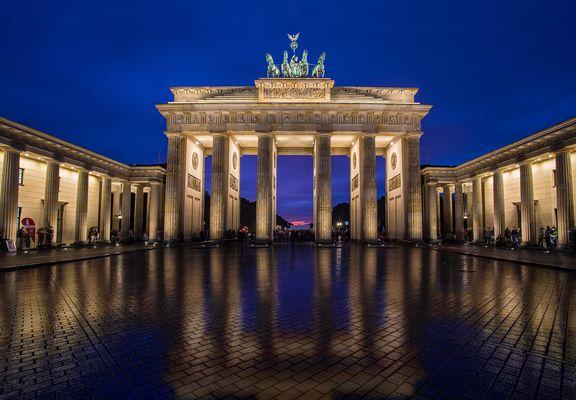 Oktoberabend in Berlin