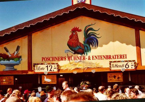 Oktoberfest 2003: Hühner & Enten