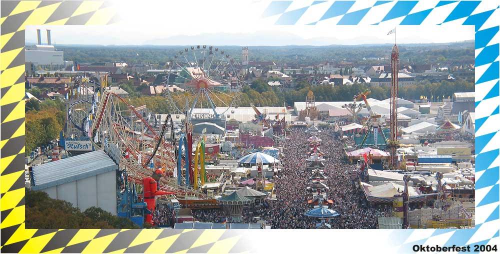 Oktoberfest 2004 von Oben