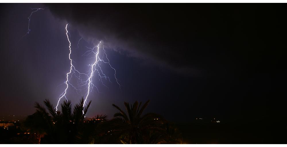 Oktobergewitter über Rhodos-Stadt (3)