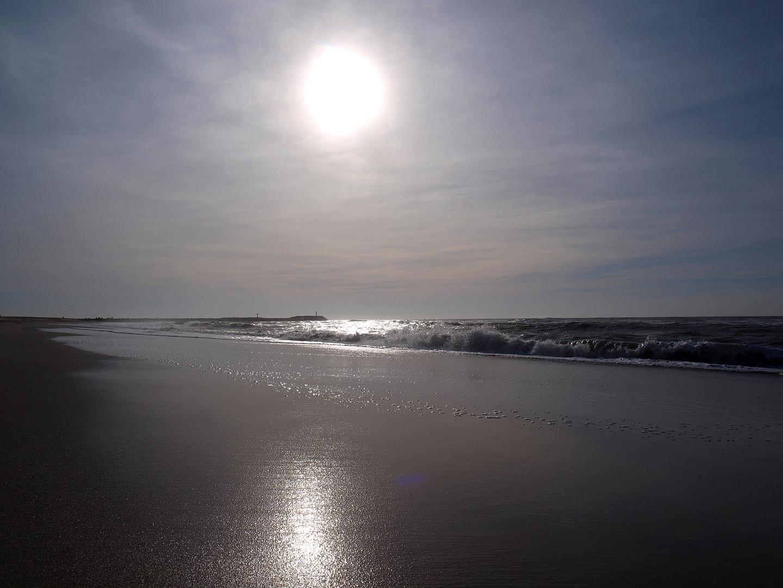 Oktobersonne vor Hvide Sande DK