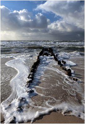 Oktoberstimmung II am Strand von Westerland/Sylt