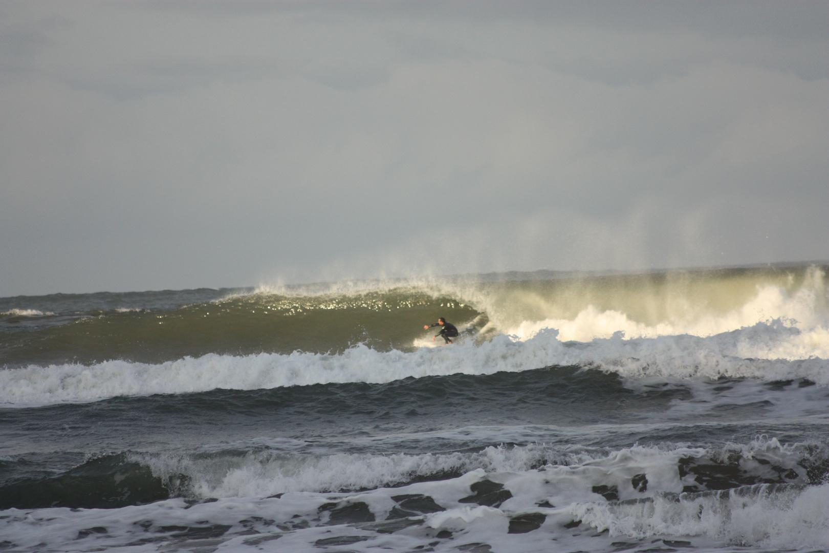 olas no aptas para surfear