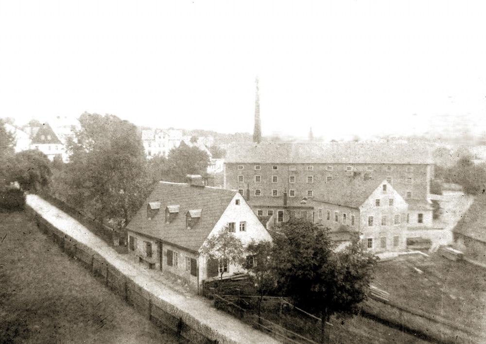 Olbernhau Obermühle 1899