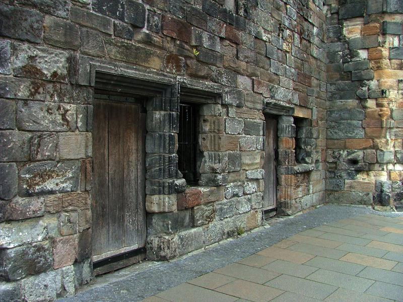 old biulding in Sterling Scotland