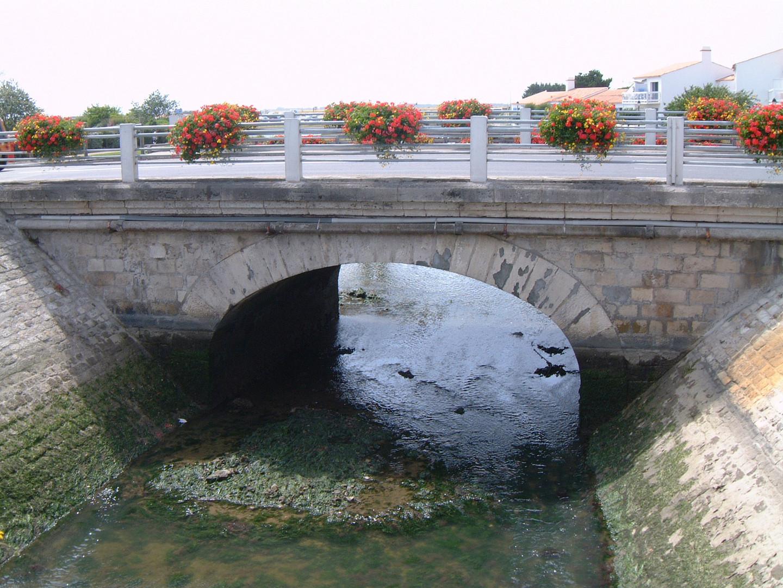 Old Bridge on Ile de Noirmoutir