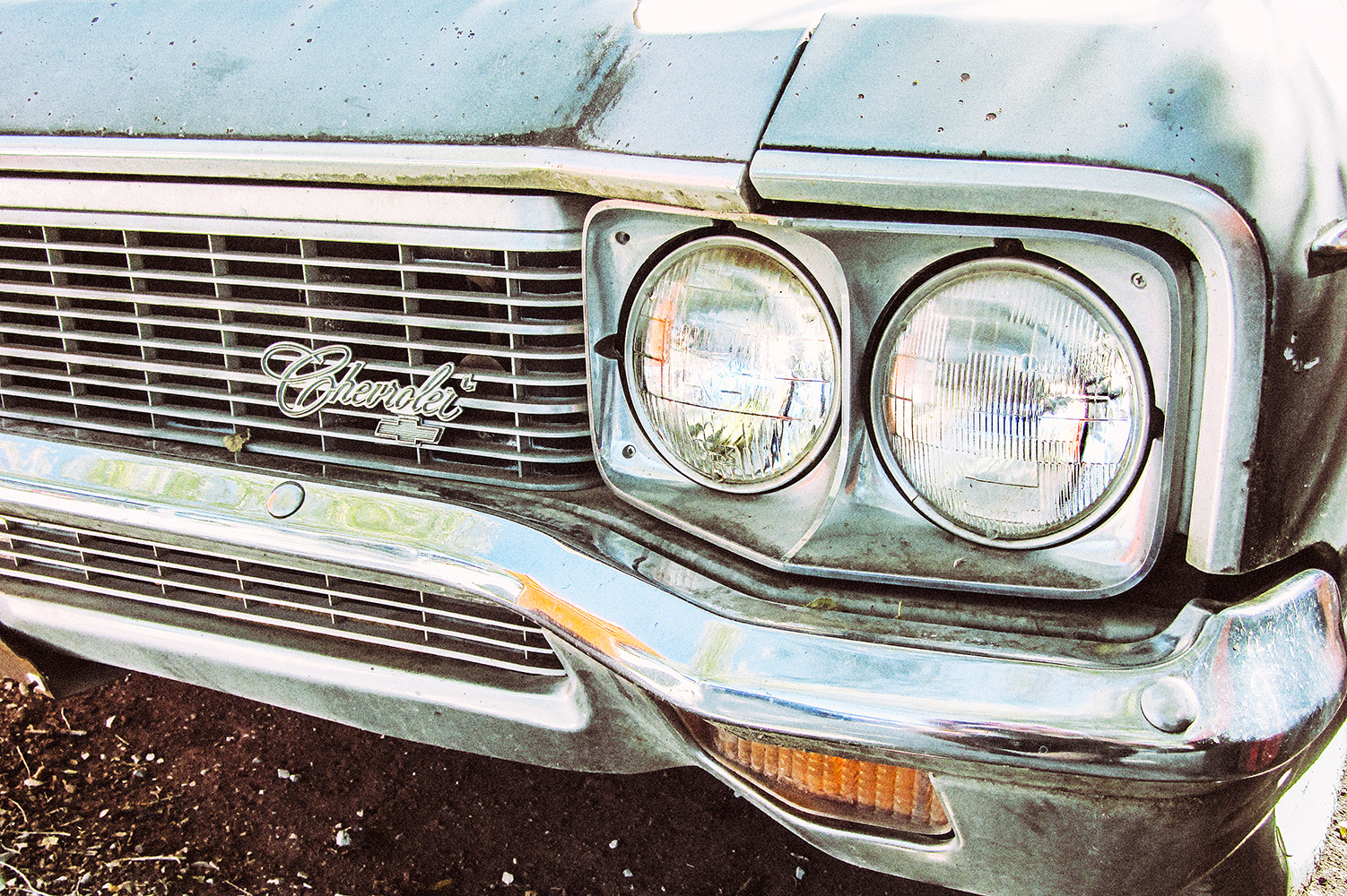 Old Car Impala Front