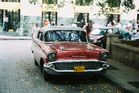 Old car in Havanna