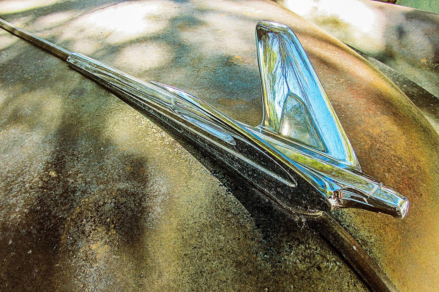 Old Car rostige Motorhaube