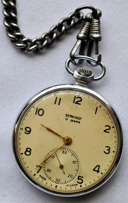 Old chain watch