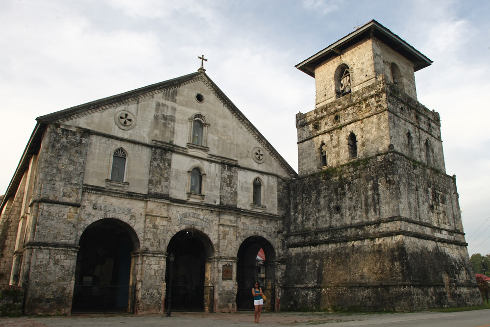 Old Church, Baclayon Bohol Philippines