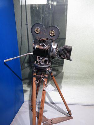 old cinema camera