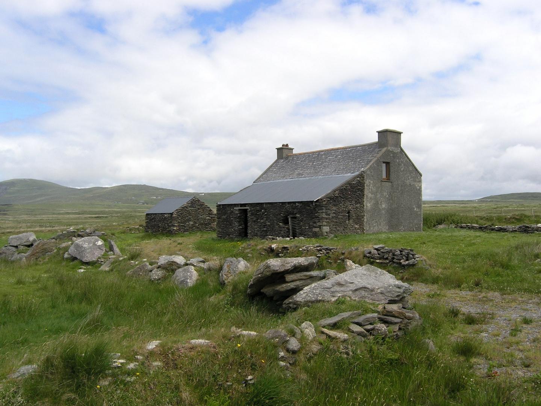 Old Cottage - Valencia Island - Ireland