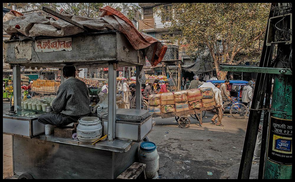Old Delhi - Einfach crazy
