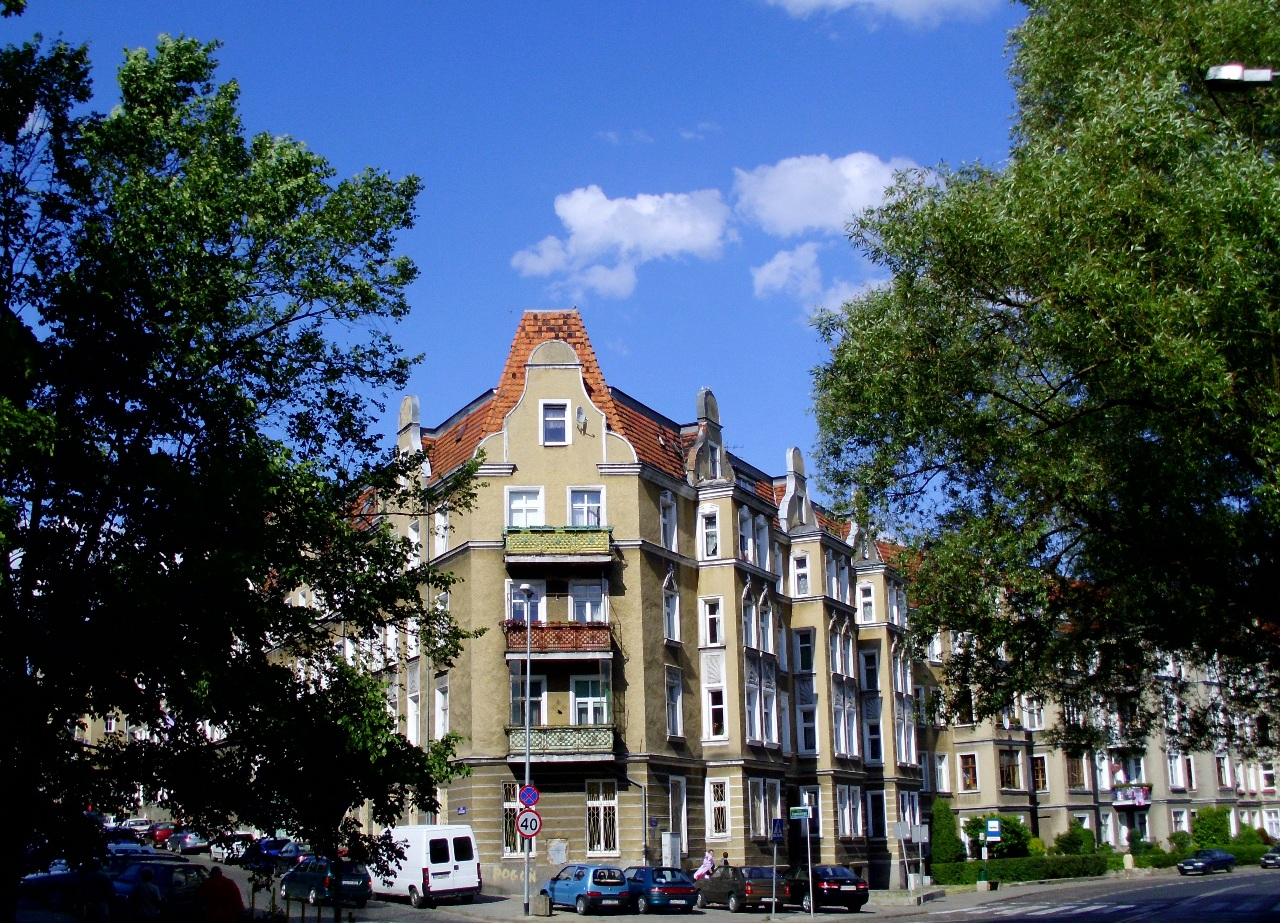 Old district of Szczecin