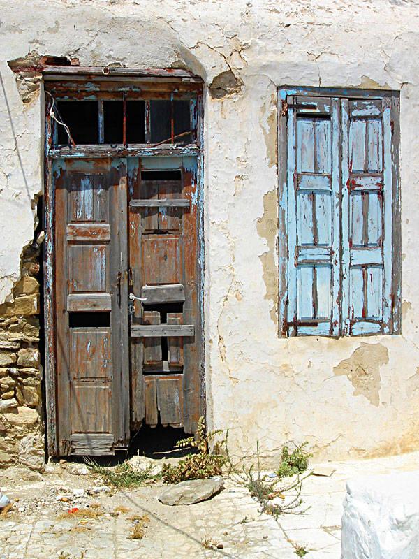 Old door & window