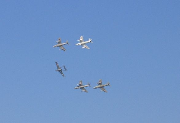 Old Fighters Of The Swiss Air-Force