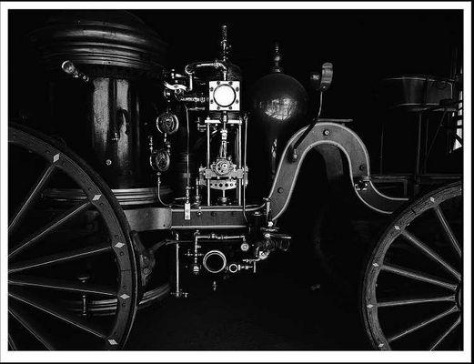 Old Fire Engine, Yermo, CA.