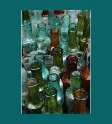 Old glassware...