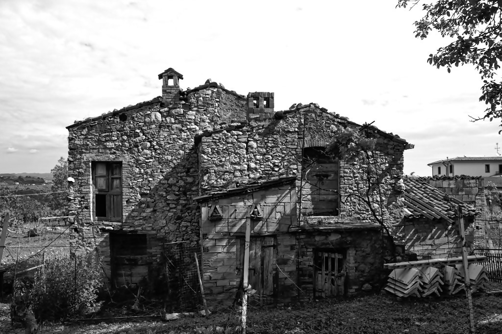 Old House in Abruzzo, Italy