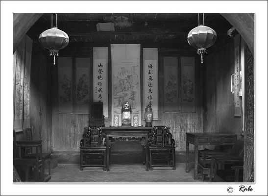 old house of China