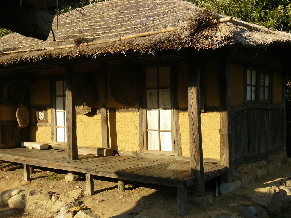 Old Korean country house