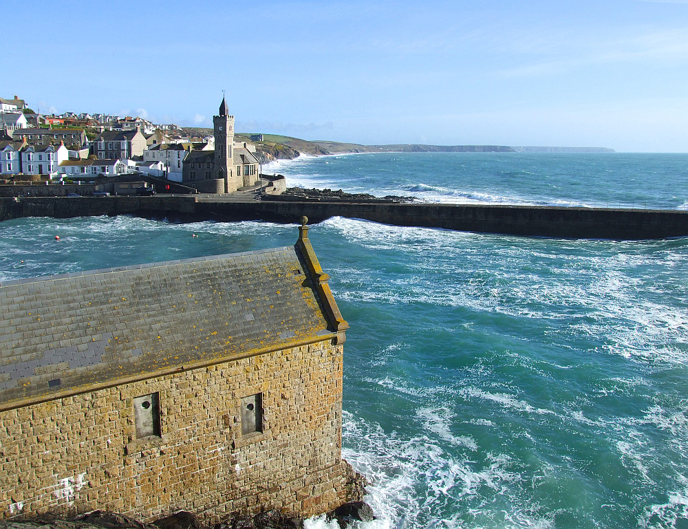 Old Lifeboat House of Porthleven