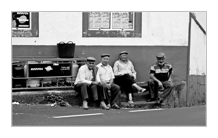 Old Man Afternoon II