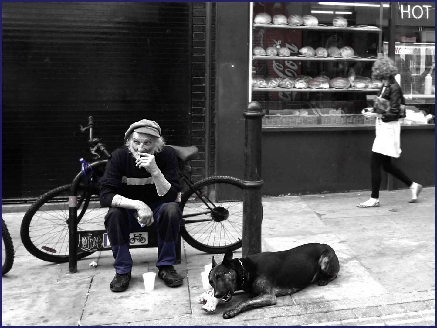 Old Man and the Street