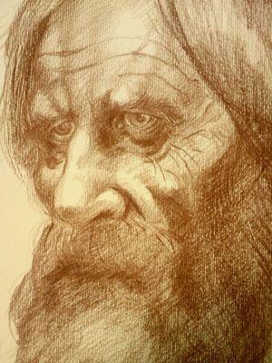 OLD MAN (DETAIL)