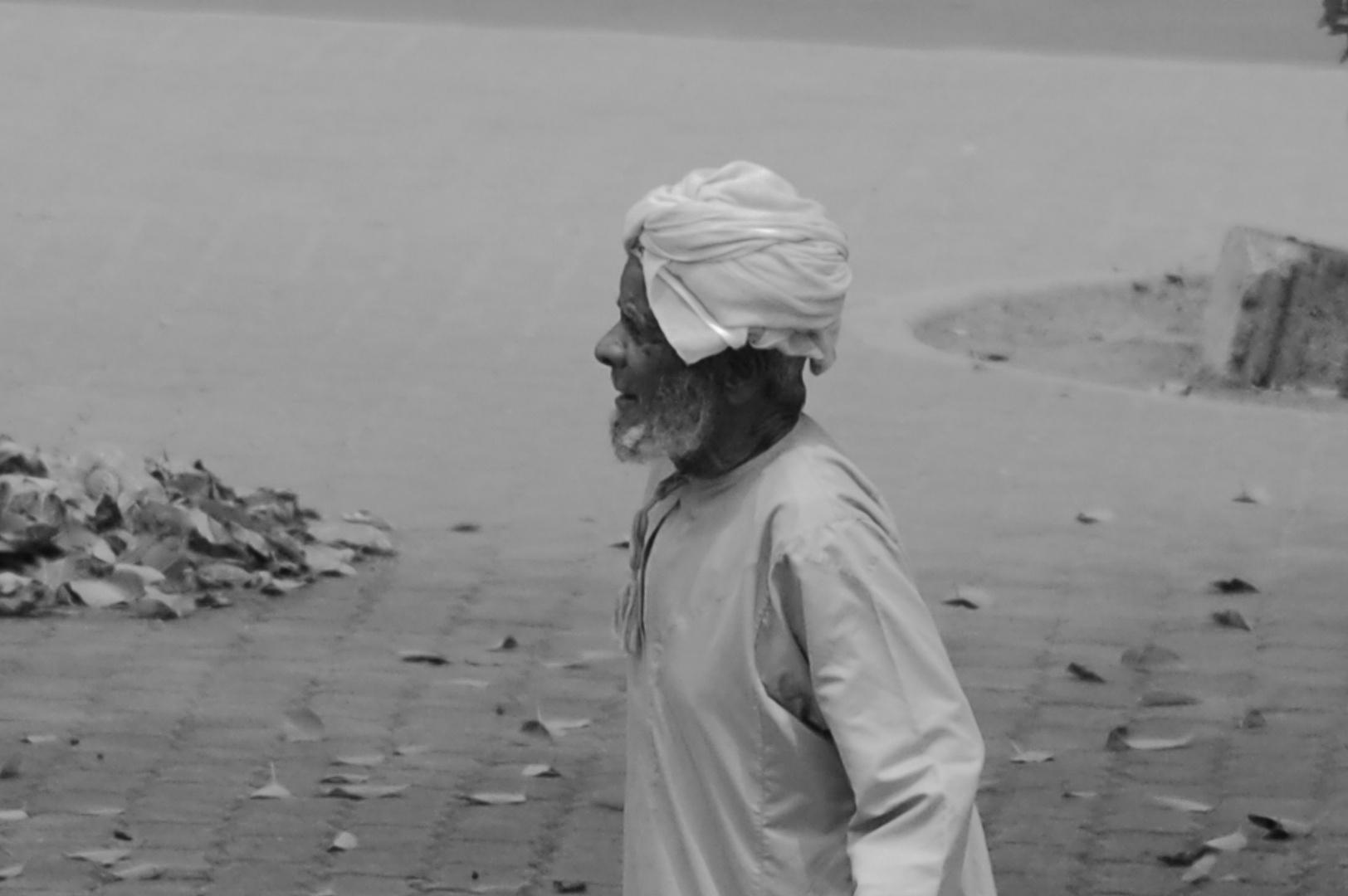 Old Man in Oman