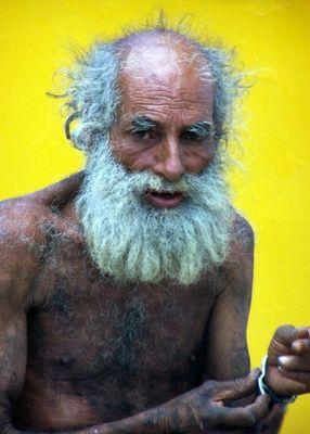 Old Man - Yellow Wall