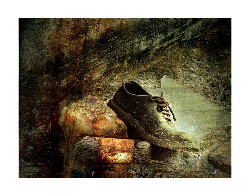 old man's shoe