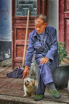 Old men from China