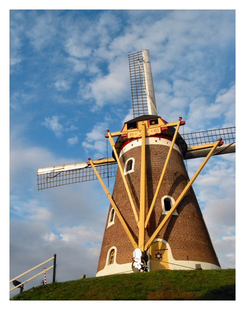 Old mill, Bavel (NL)