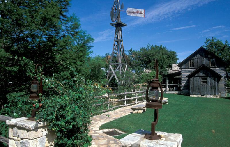 Old Mill Settlement, Fredericksburg, Texas
