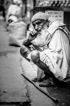 Old Monk in Old Delhi